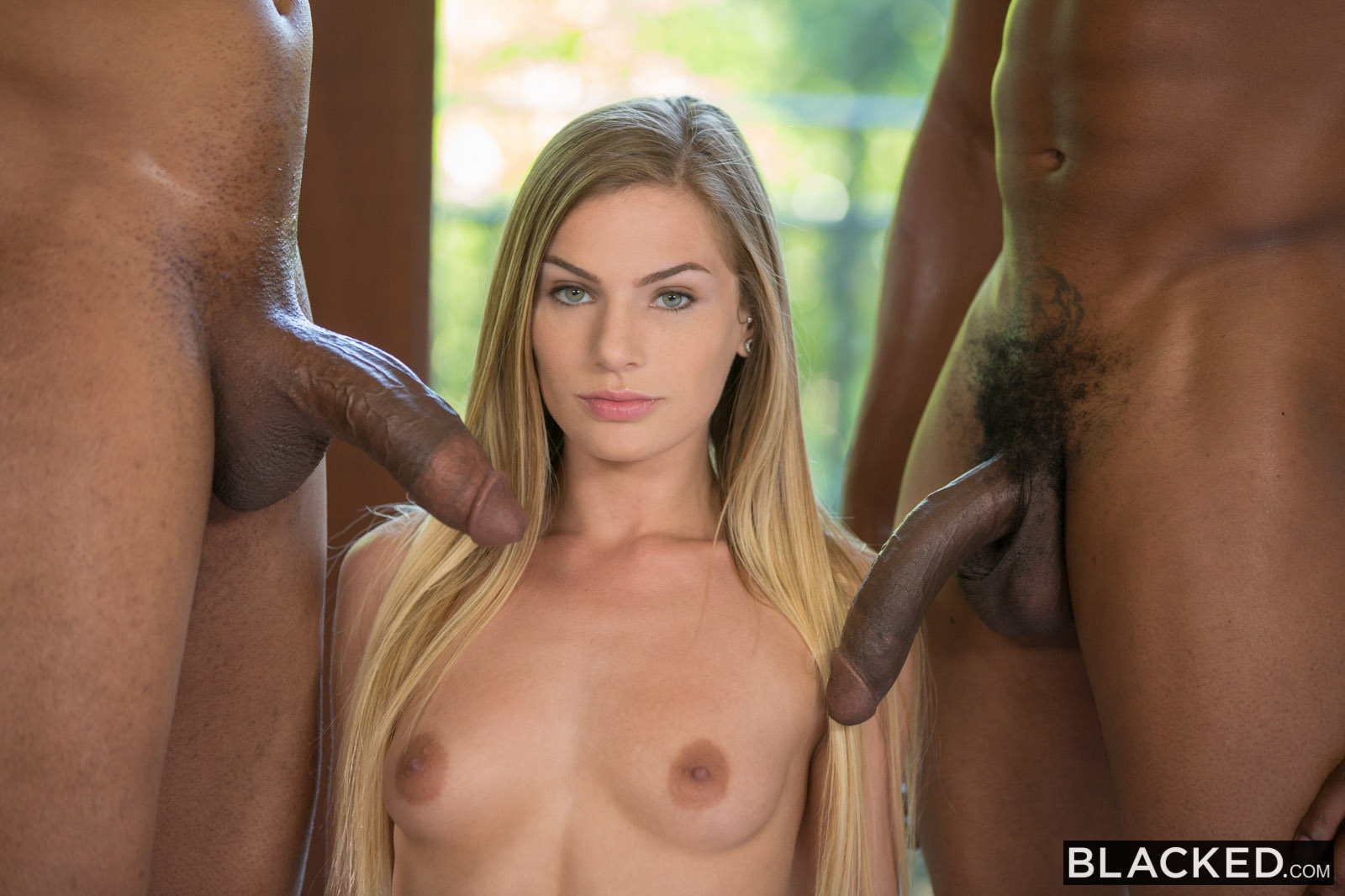 blondine blowjob